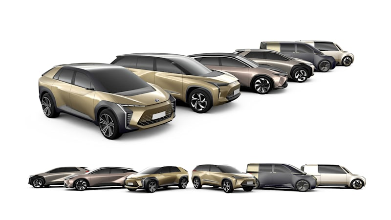 Toyota will introduce several new battery EVs by 2025