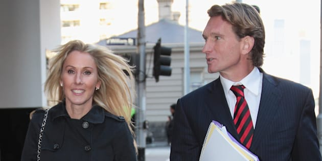 Tania Hird has called for privacy following James Hird's health scare on Wednesday.