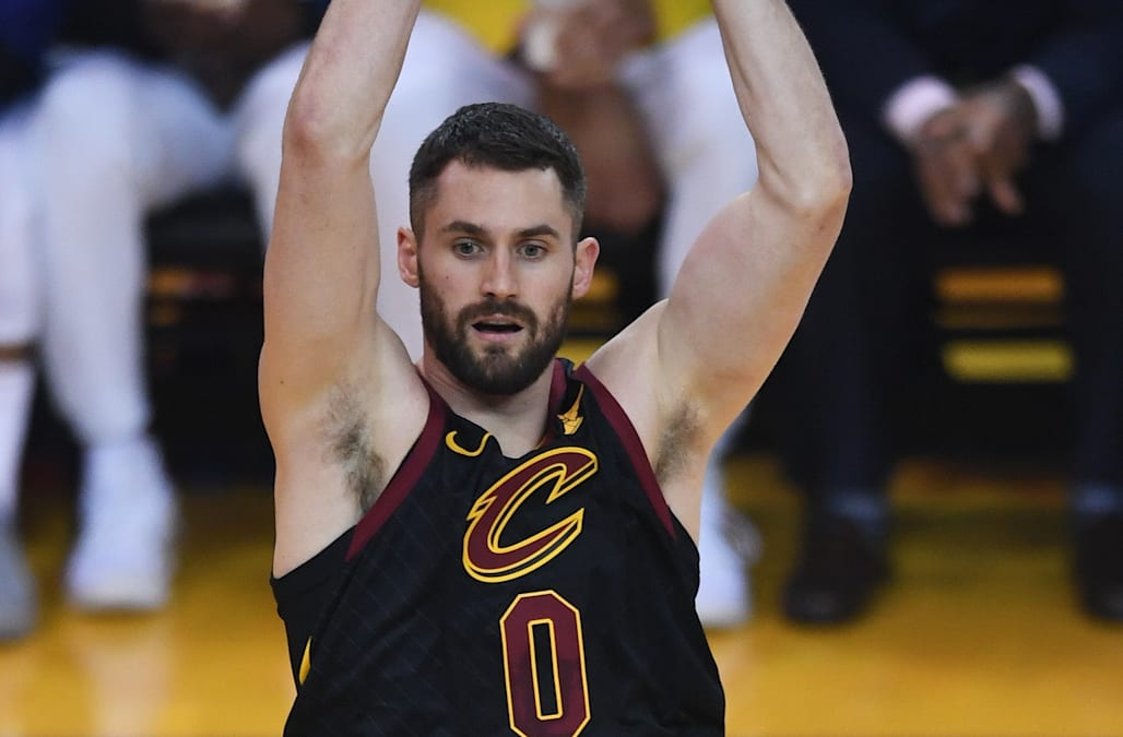 b874fef046c3 Kevin Love reportedly won t be suspended after leaving the bench during the  Cavs-Warriors scuffle