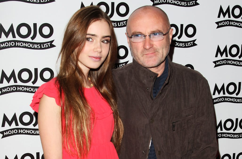 Phil Collins Lily Collins