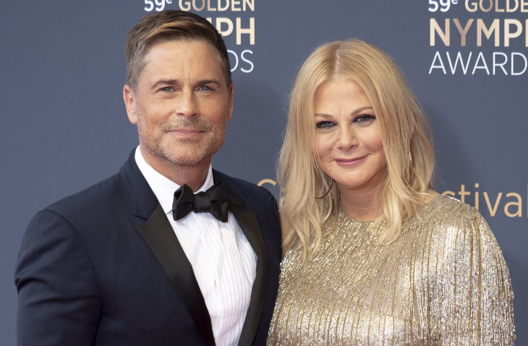Rob Lowe and wife Sheryl Berkoff 'still struggle' with this one