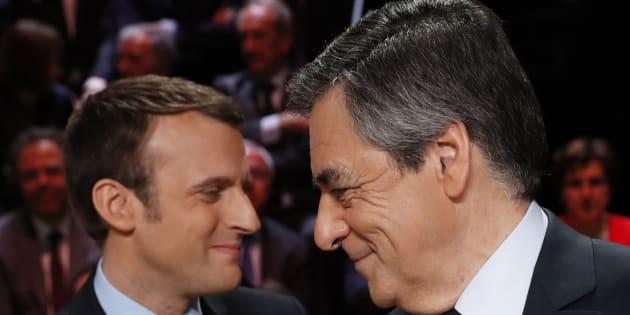 Pour rattraper son retard, François Fillon a choisi de concentrer ses flèches sur son rival Emmanuel Macron.