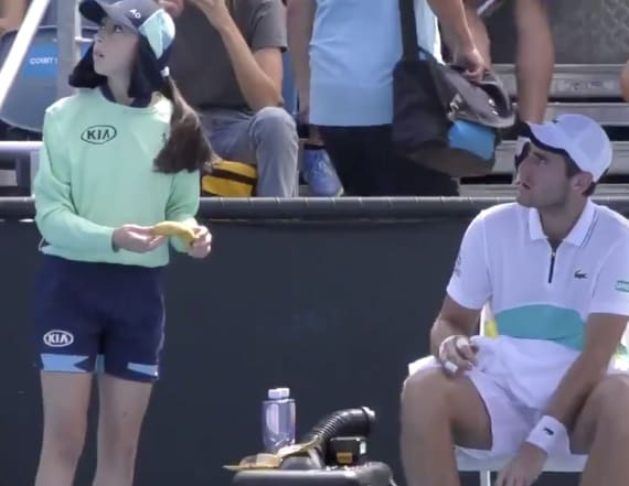 Tennis player hits back over incident with ball girl