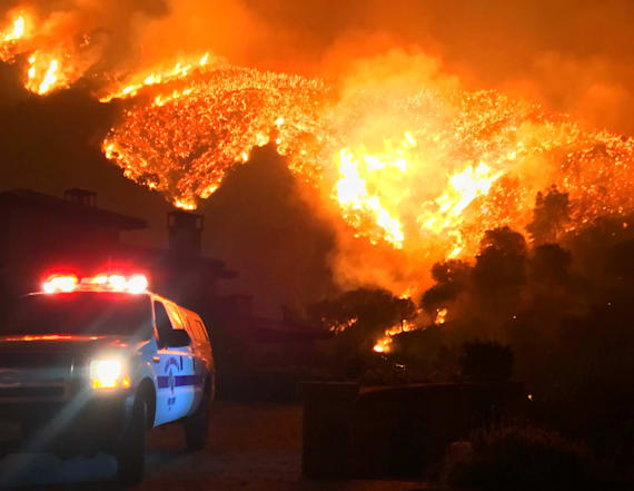 Wildfire escalates to 3rd largest in California