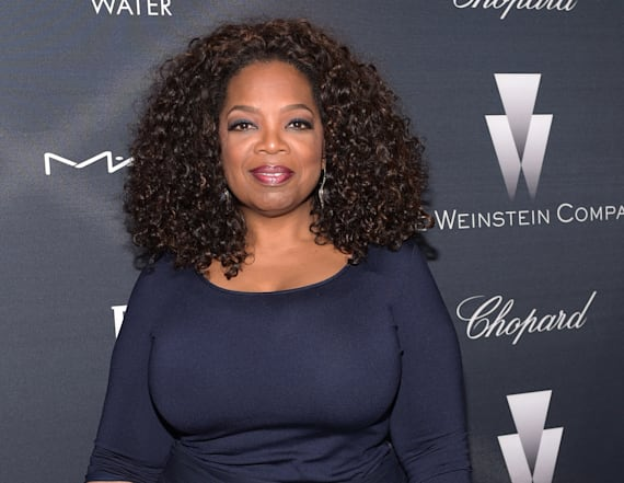 Oprah Winfrey surprises fans at intimate dinner