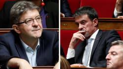 Ce que la violence excessive des attaques entre Valls et Mélenchon dit de leur