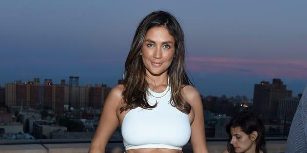 L'actrice Dominique Huett à New York le 20 juin 2017.