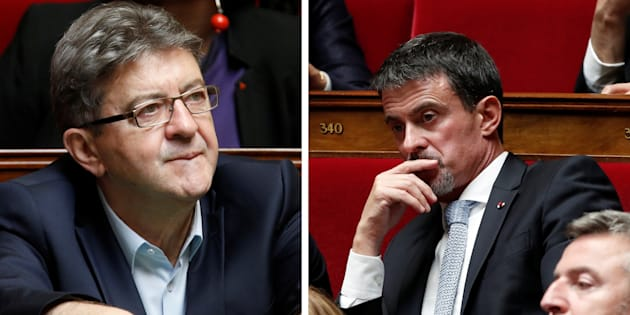 Entre Valls et Mélenchon, ce que la violence excessive des attaques dit de leur stratégie