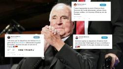Les hommages français à Kohl reprennent tous les mêmes mots et en disent long sur son