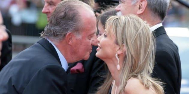 Imagen de archivo del rey emérito Juan Carlos I y Corinna.