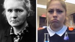Snapchat ajoute du maquillage à son filtre Marie-Curie et ça n'a pas