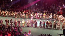 Powwow Dancers Form Powerful Circle In Tribute To Indigenous
