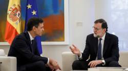 Rajoy y Sánchez califican a Torra de
