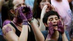 Miles de mujeres rechazan en toda España la puesta en libertad de 'La