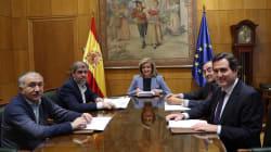 Gobierno y agentes sociales acuerdan una subida del salario mínimo hasta los 850 euros en