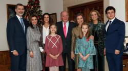 Juan Carlos I celebra su 80 cumpleaños con una comida multitudinaria en