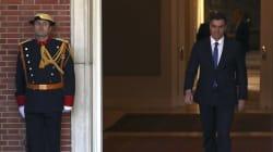 Rajoy, con el datáfono roto; y Sánchez, presidente equilibrista en la cuerda