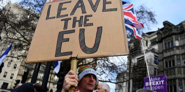 Marcha por el Brexit.