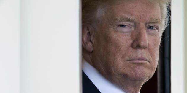 El presidente de Estados Unidos, Donald J. Trump, en la Casa Blanca el pasado lunes.