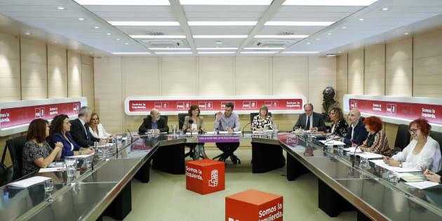 Pedro Sánchez y el Consejo Asesor para las Políticas de Igualdad
