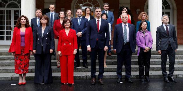 El gabinete de Pedro Sánchez.