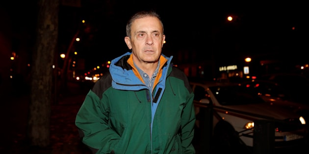 Jordi Pujol Ferrusola, a su llegada a la Audiencia Nacional tras salir de la prisión de Soto del Real. EFE/JuanJo Martín