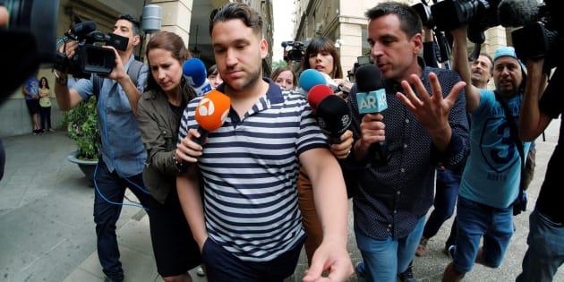 José Ángel Prenda, uno de los componentes de 'La Manada', en libertad provisional.