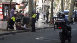 VIDEO: Una camioneta atropella a varias personas en Las Ramblas,