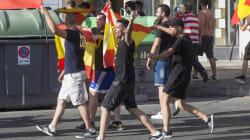 Agresión nazi en pleno desfile del Orgullo LGTB en