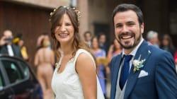 Así ha sido la boda de Alberto Garzón y Anna