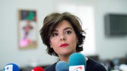 Sáenz de Santamaría presenta su candidatura para presidir el