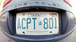 Ontario Mulling New Licence Plate Slogan 'Open For Business':