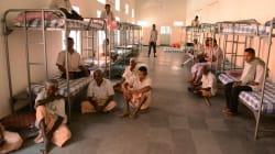 Sacan a los mendigos de una ciudad india antes de la llegada de Ivanka