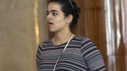La réfugiée saoudienne qui fuit sa famille est arrivée en sol