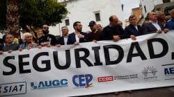Miles de personas protestan en Algeciras contra la violencia y el