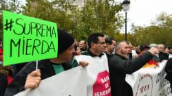 Miles de personas protestan ante el Tribunal Supremo por la sentencia de las hipotecas: