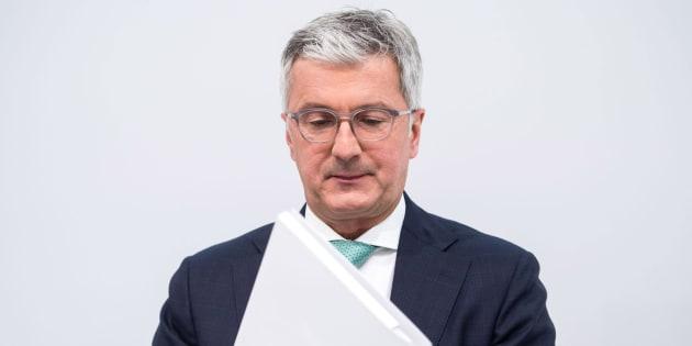 Foto de archivo de Rupert Stadler, presidente de Audi.