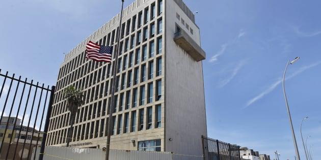 Imagen de archivo de la embajada de Estados Unidos en Cuba.