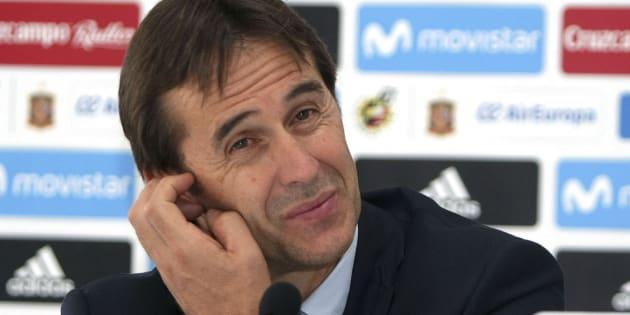Julen Lopetegui, próximo entrenador del Real Madrid.