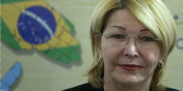 La exfiscal venezolana Luisa Ortega participa en una reunión de fiscales de los países del Mercosur.
