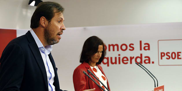 Óscar Puente y Luz Seijo