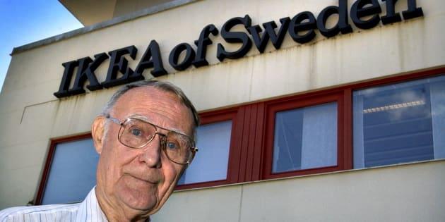 Ingvar Kamprad, fundador de IKEA, en Suecia en un foto de archivo.