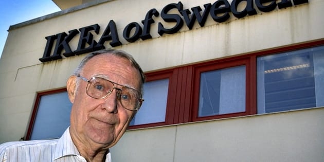 Ingvar Kamprad, en 2002.