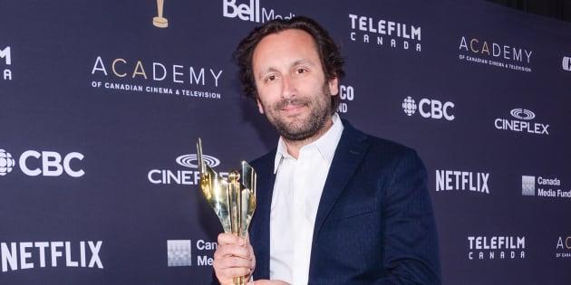 Nicolas Bolduc a remporté le prix pour la meilleure direction photo dans «Hochelaga, terre des âmes».