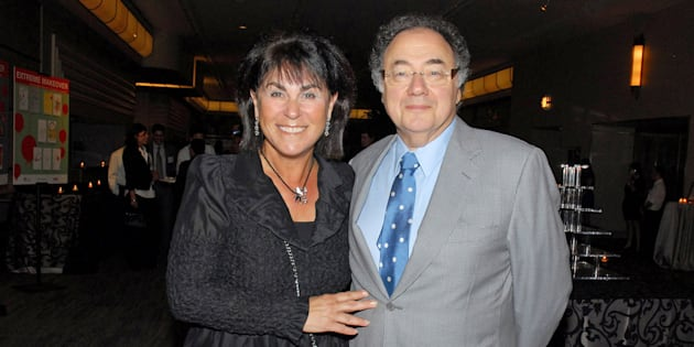 Honey et Barry Sherman en 2010.