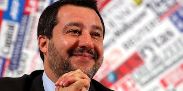 El vicepresidente italiano Matteo Salvini.
