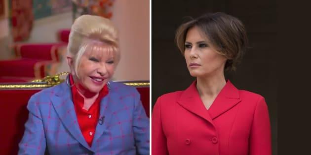 Cette blague de l'ex-femme de Trump sur la Première dame n'a pas du tout fait rire Melania