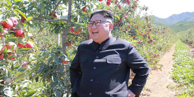 Imagem de arquivo do líder norte-coreano, Kim Jong Un.