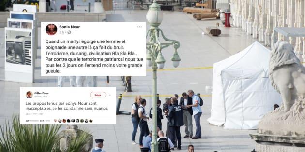 """Attaque à Marseille: Une collaboratrice du maire de La Courneuve fait scandale en qualifiant de """"martyr"""" l'assaillant"""