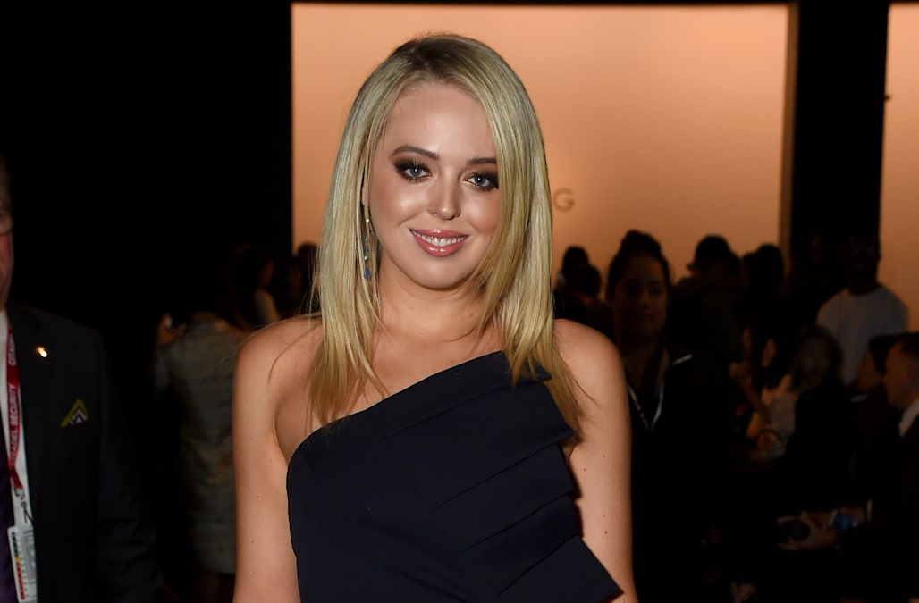 Tiffany Trump Debuts Dramatic Hairstyle During Los Angeles Trip